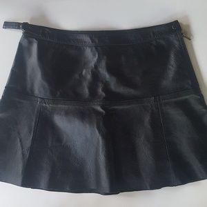 Leather Mini Skirt Newport News
